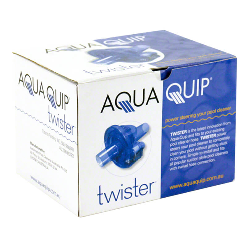 Aquaquip Twister Pool Cleaner Power Steering Device Package Box