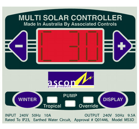 Ascon MS3D Controller Touchpad