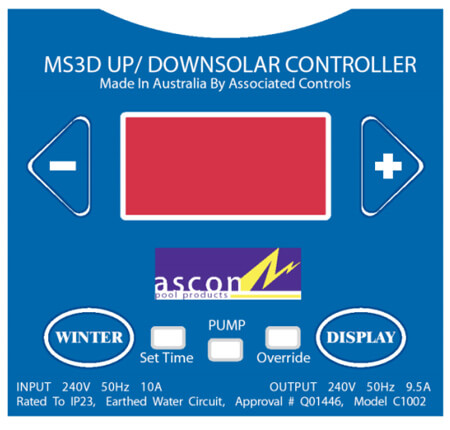 Ascon MS3D-UD Controller Touchpad