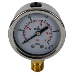 Astral Pool Filter Pressure Gauge 75032