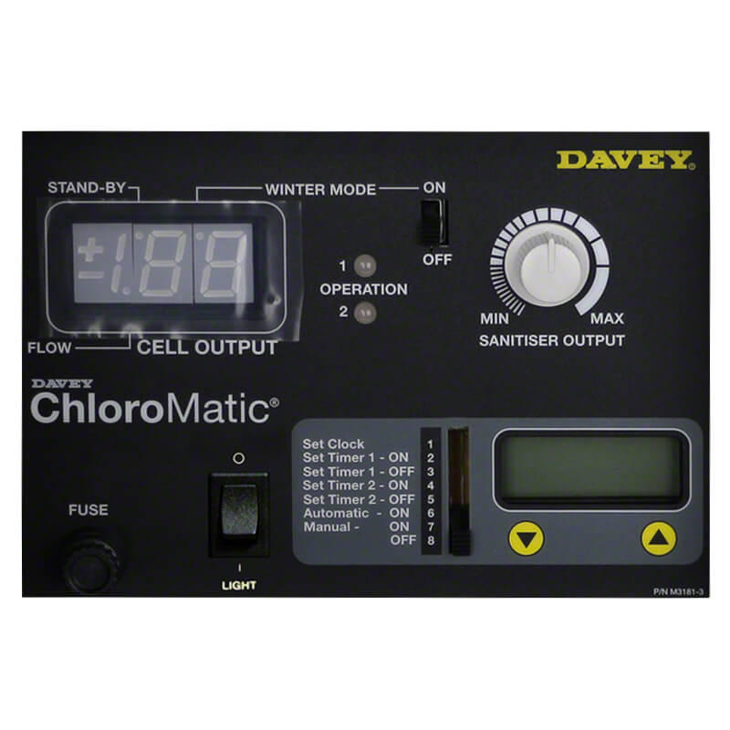 Davey Monarch Chloromatic Pool Light Panel MCS T