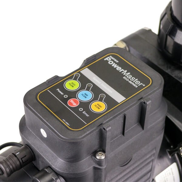 Davey Powermaster Eco PMECO Pump Touchpad Closeup