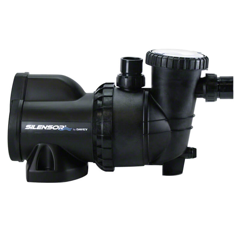 Davey Silensor SLS Silent Pool Pump Side