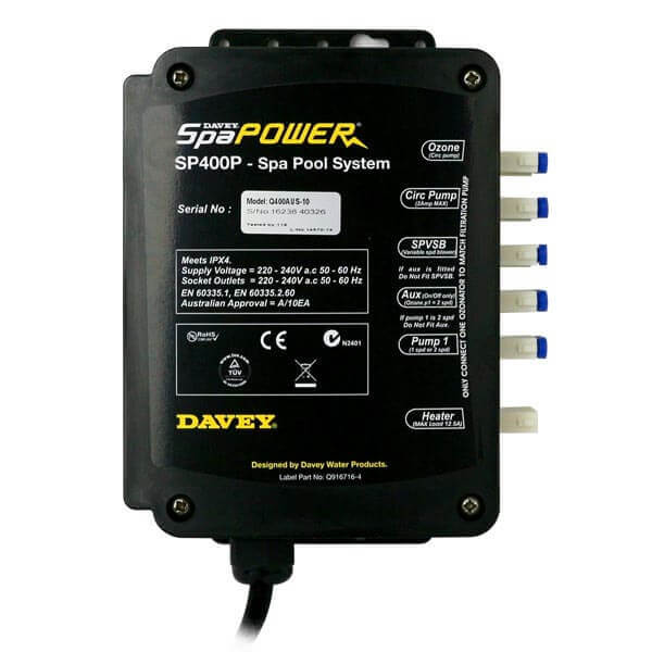 Davey Spa Power SP400 Controller