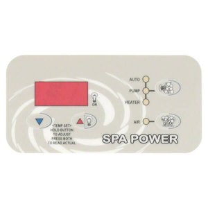 Davey Spa Power SP400 SP500 SP600 Xcelsior Control Touchpad - Rectangle