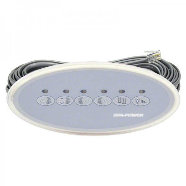 Davey Spa Power SP800 SP1200 Second Touchpad