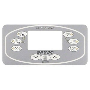 Davey Spa Power SP800 Touchpad Rectangle Decal