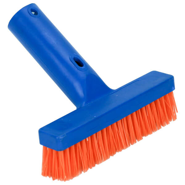 Pool Broom Brush Orange Bristle