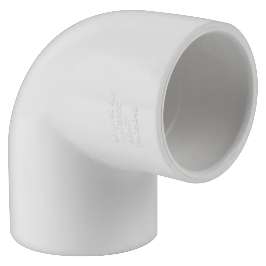 Pool PVC Pipe Fitting 90 Elbow 40mm 121340 • Poolequip