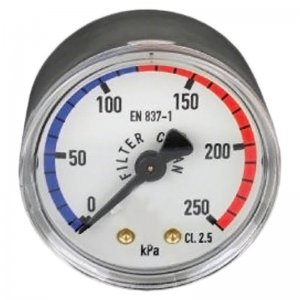 Pool Sand Filter Gauge Rear Mount Standard