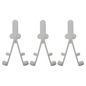 Pool Tele Pool Wishbone Clip Y 3 Pack