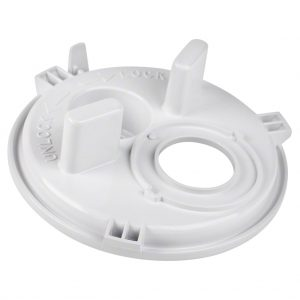 Poolrite S2500 Skimmer Vac Plate 2 Hole W20661