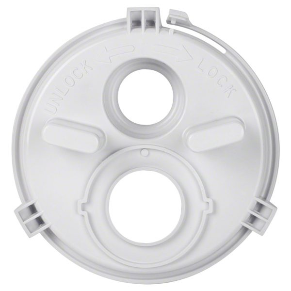 Poolrite S2500 Skimmer Vac Plate 2 Hole W20661 Top