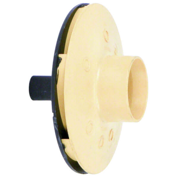 Poolrite SQI 400 Pump Impeller Yellow Side Front