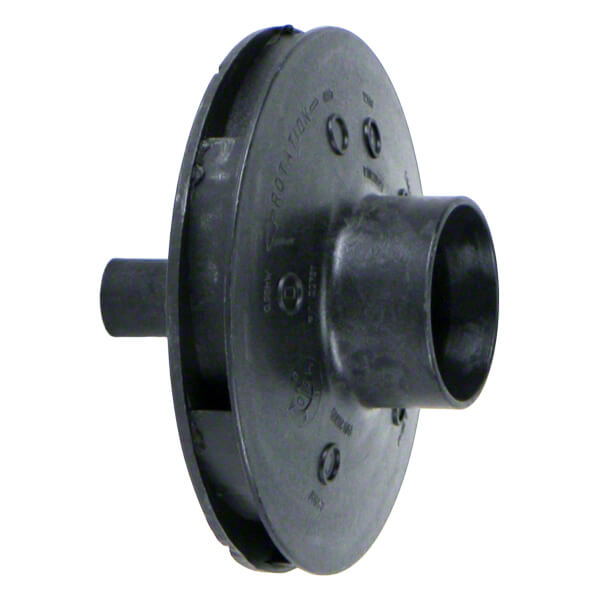 Poolrite SQI 600 Pump Impeller Front Side Black
