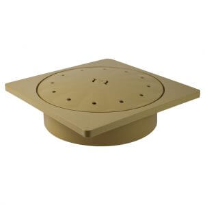 Poolrite Skimmer Box Deck Lid Kit Beige Square