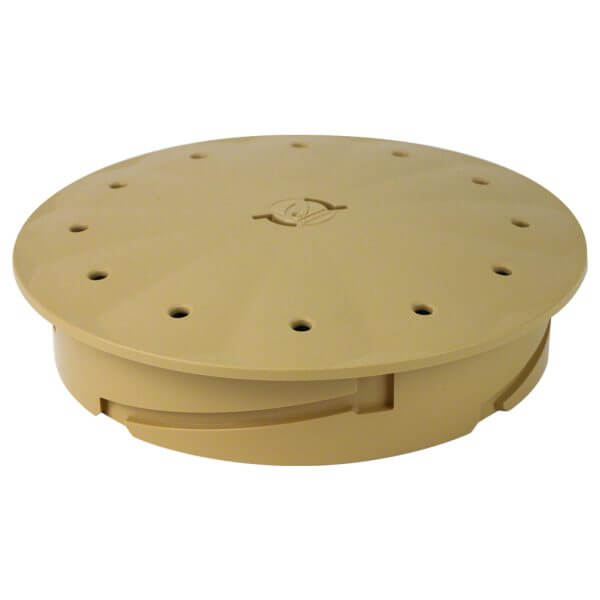 Poolrite Skimmer Box Deck Lid Only Beige