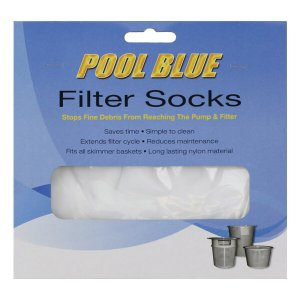 Skimmer Socks Pool Blue