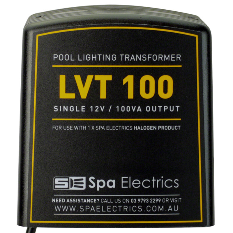 Spa Electrics Halogen Pool Light Transformer 100w 100 VA Front