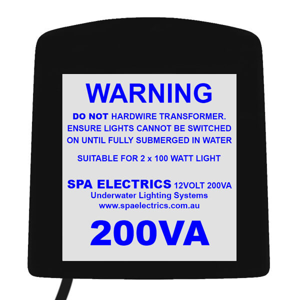 Spa Electrics LV200-12 Dual Halogen Transformer