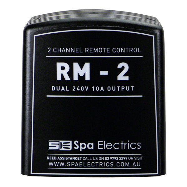 Spa Electrics RM-2 Remote Control Receiver Front