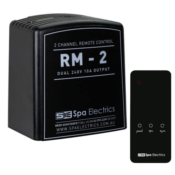 Spa Electrics RM-2 Remote Control Receiver with Remote Side