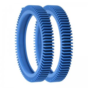 The Pool Cleaner Super Hump Wheel Tires Tread Blue Set of 2 896584000-143