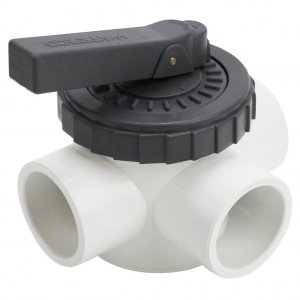 Waterco 40mm 3 Way Valve FulFlo 14843