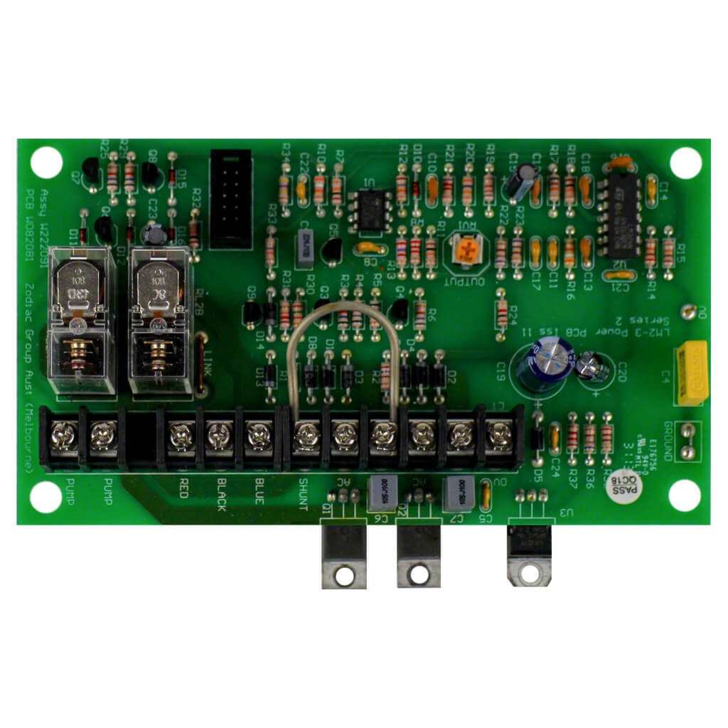 Zodiac Clearwater Lm3 Power Pcb Circuit Board W222091 Poolequip Electrical Boards Popular
