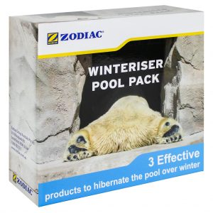 Zodiac Pool Winteriser Pack Phosphate Clarifier Algaecide WC000176 Side