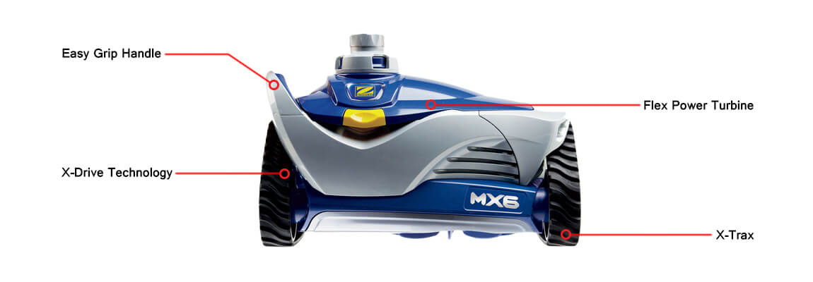 Zodiac MX6 Pool Cleaner Diagram
